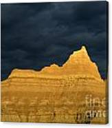 Badlands Early Light Canvas Print