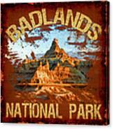 Badlands National Park Canvas Print