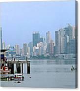 Bahia De Panama Canvas Print