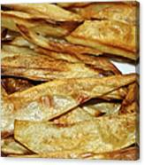 Baked Potato Fries Canvas Print