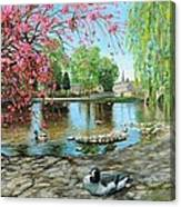 Bakewell Bridge - Derbyshire Canvas Print