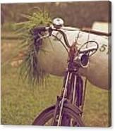 Bali Bike Canvas Print