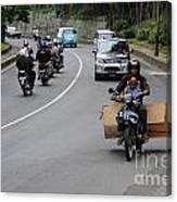 Balinese Transportation Canvas Print