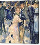 Ball At The Moulin De La Galette Canvas Print