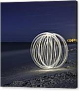 Ball Of Light Marco Island Beach Canvas Print