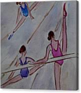 Ballerina Studio Canvas Print