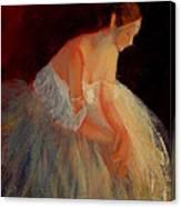 Ballerina Study Canvas Print