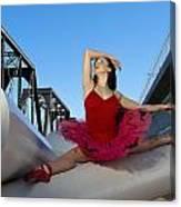 Ballet Splits Canvas Print