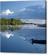 Ballina, Co Mayo, Ireland Morning Canvas Print