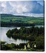 Ballindoon Abbey, Lough Arrow, Co Canvas Print