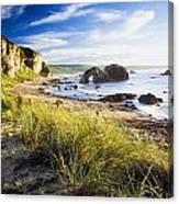 Ballintoy, County Antrim, Ireland Beach Canvas Print