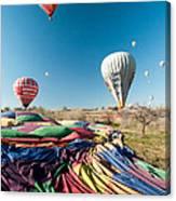 Ballons - 5 Canvas Print