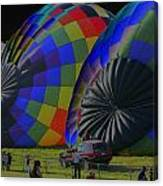 Balloon Dreamscape  4 Canvas Print