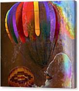 Balloon Racing Canvas Print