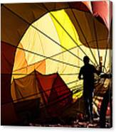 Balloon Recovery Canvas Print