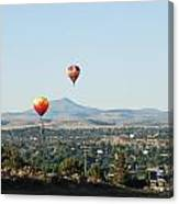 Balloons Over Madras Canvas Print