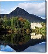 Ballynahinch Castle Hotel, Twelve Bens Canvas Print