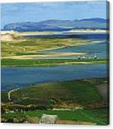 Ballyness, Co Donegal, Ireland Aerial Canvas Print