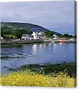 Ballyvaughan, Co Clare, Ireland Small Canvas Print