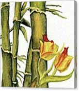 Bamboo Paradise Canvas Print