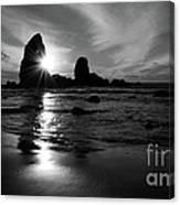 Bandon Beach Sunset Canvas Print
