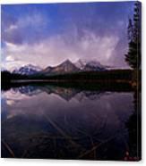 Banff - Herbert Lake Canvas Print