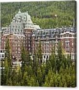 Banff Hotel 1684 Canvas Print
