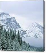 Banff National Park, Alberta, Canada Canvas Print