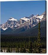 Banff National Park Panorama Canvas Print