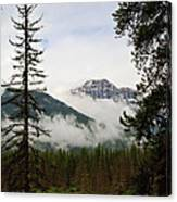 Banff View Canvas Print