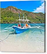 Bangka Boat Canvas Print