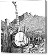 Banjo 2 Canvas Print