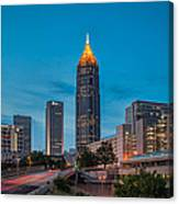Bank Of America Plaza Atlanta Canvas Print
