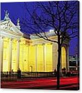 Bank Of Ireland, College Green, Dublin Canvas Print