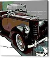 Bantam Speedster Canvas Print