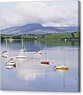 Bantry Bay, County Cork, Ireland Boats Canvas Print