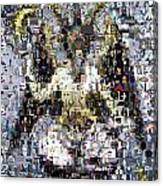 Baphomet Mosaic Canvas Print