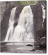 Baptism High Falls 10 Canvas Print