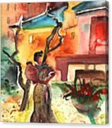 Barbastro 02 Canvas Print
