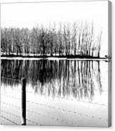 Barbed Water Canvas Print