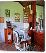 Barber Shop 2 Canvas Print