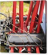 Barbwire Engine Canvas Print