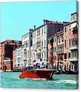 Barca Di Venezia Canvas Print