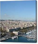Barcelona View 2 Canvas Print