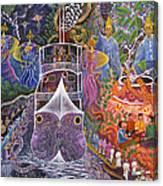 Barco Fantasma Canvas Print