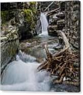 Baring Creek Waterfall And Rapids Canvas Print