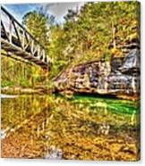 Barkshed Creek Bridge Canvas Print