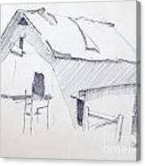 Barn 3 Canvas Print