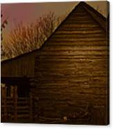 Barn After Lightroom Canvas Print