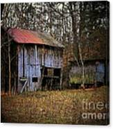 Barn In The Woods Canvas Print
